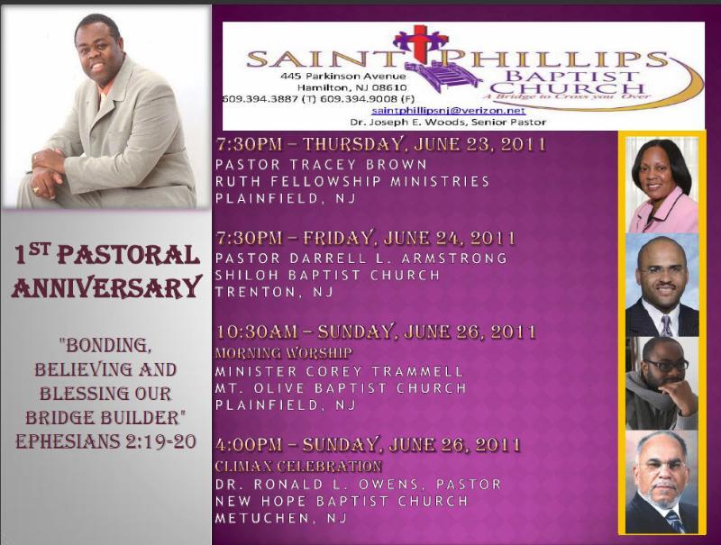 Baptist Pastor Installation Program | Party Invitations Ideas