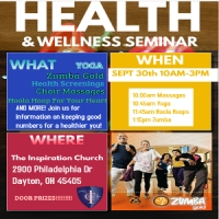 Health and Wellness Seminar @ The Inspiration Church | Dayton | Ohio | United States