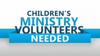 Children's Ministry Volunteer Application
