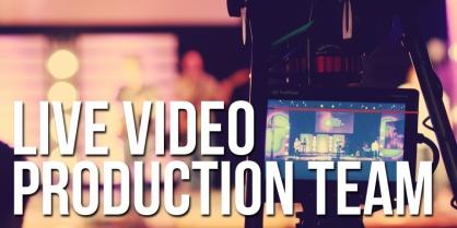 Live Video Production Team