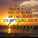 Trusting God in Times of Trouble