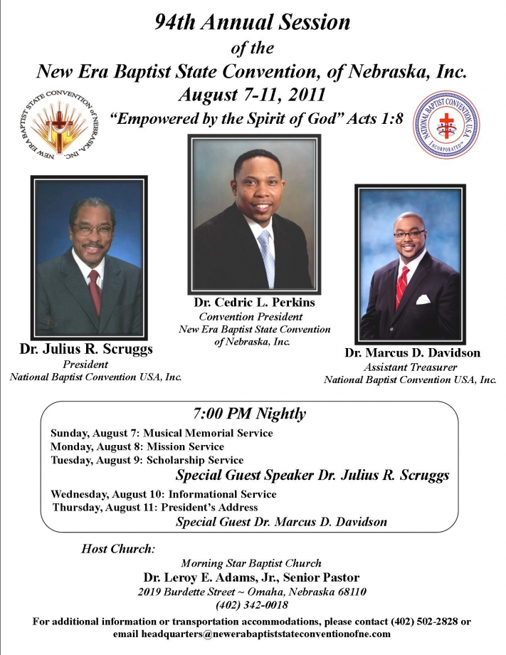 National Baptist Convention - Envisioning the Future