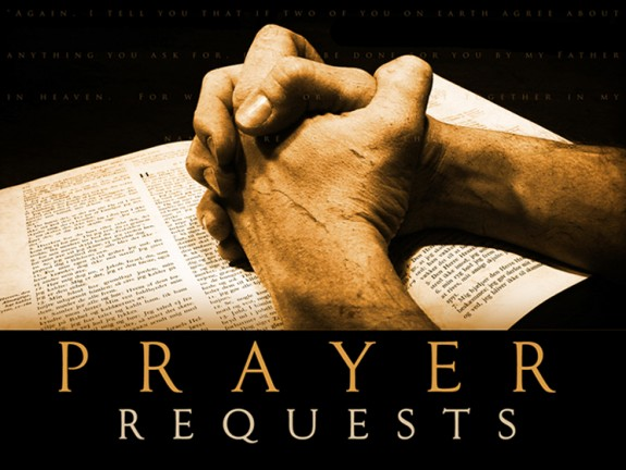 Conway Church of God - Prayer Request
