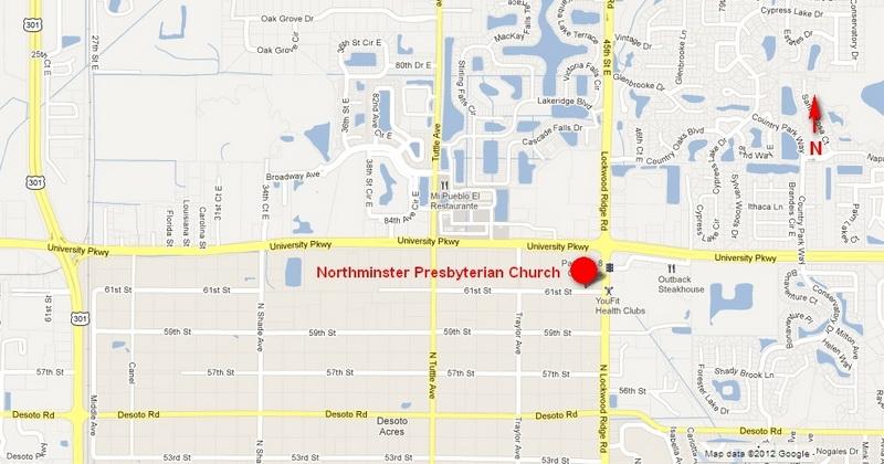 Northminster Presbyterian Church Contact Us - Presbyterians us map
