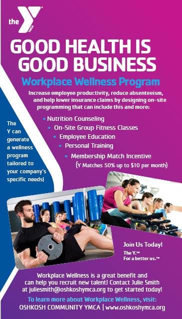 Oshkosh YMCA - The Y: We're for youth development, healthy