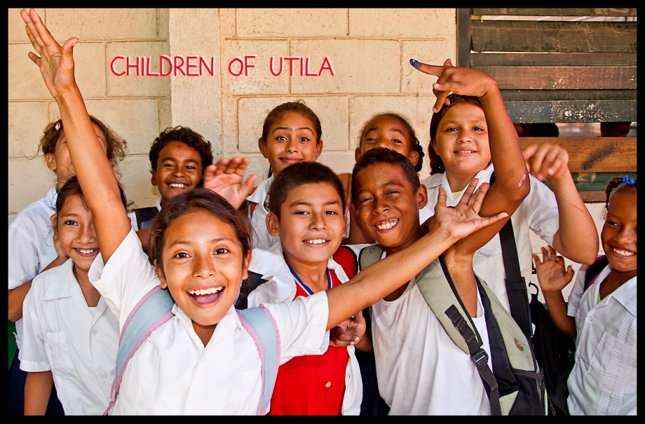 Children of Utila, Honduras