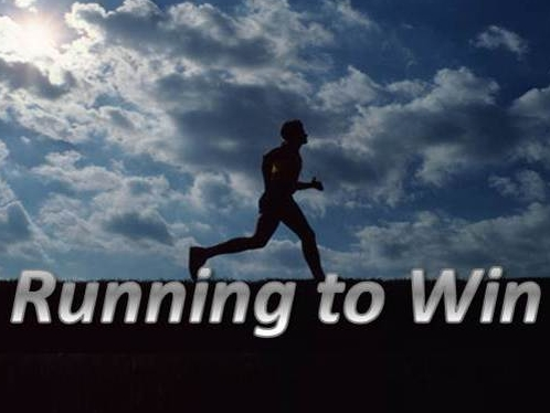 Image result for running to win