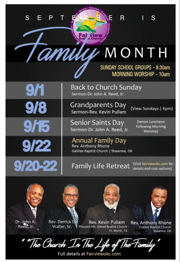 Fairview Missionary Baptist Church - A Church With Purpose