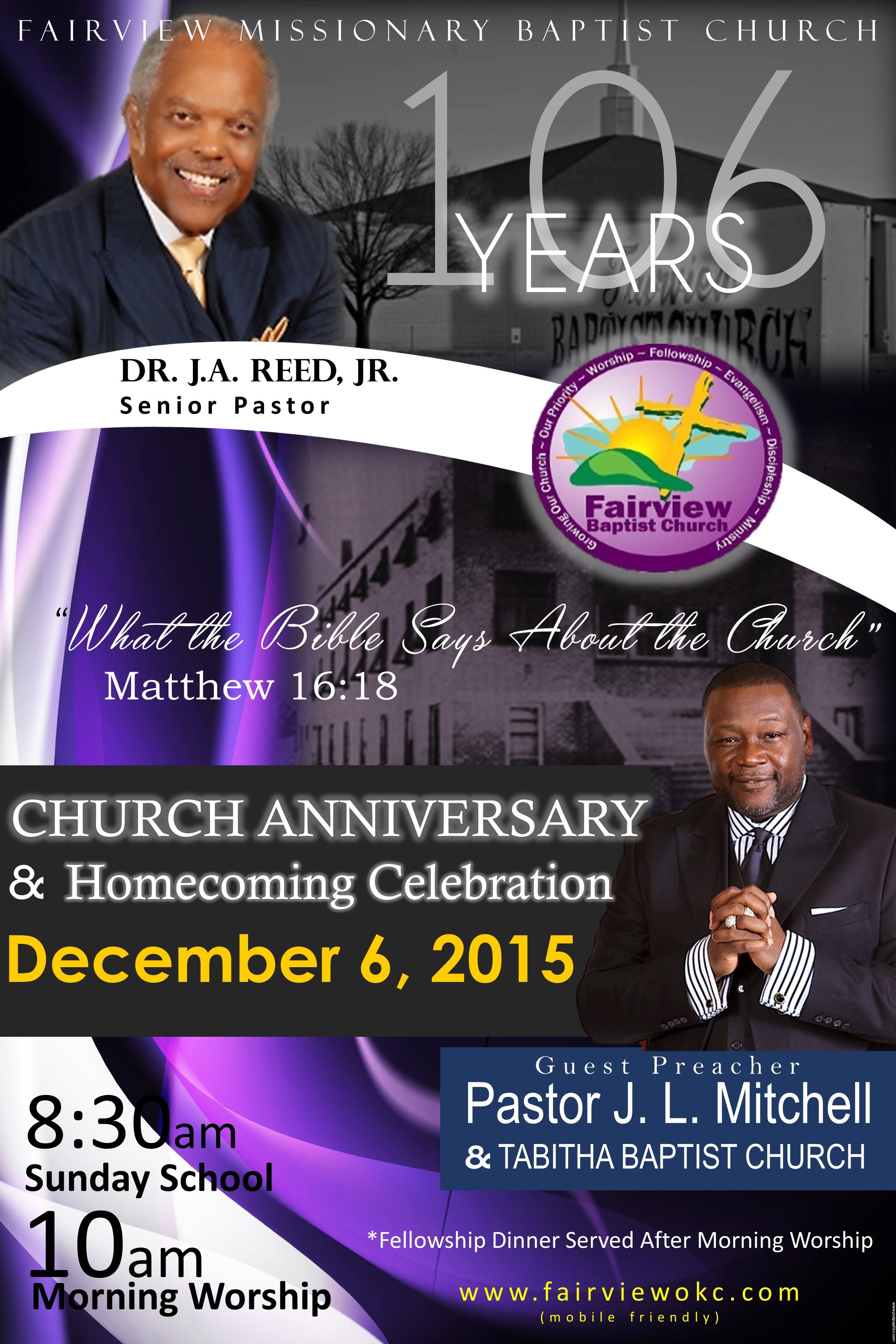 Fairview Missionary Baptist Church - 963.0KB
