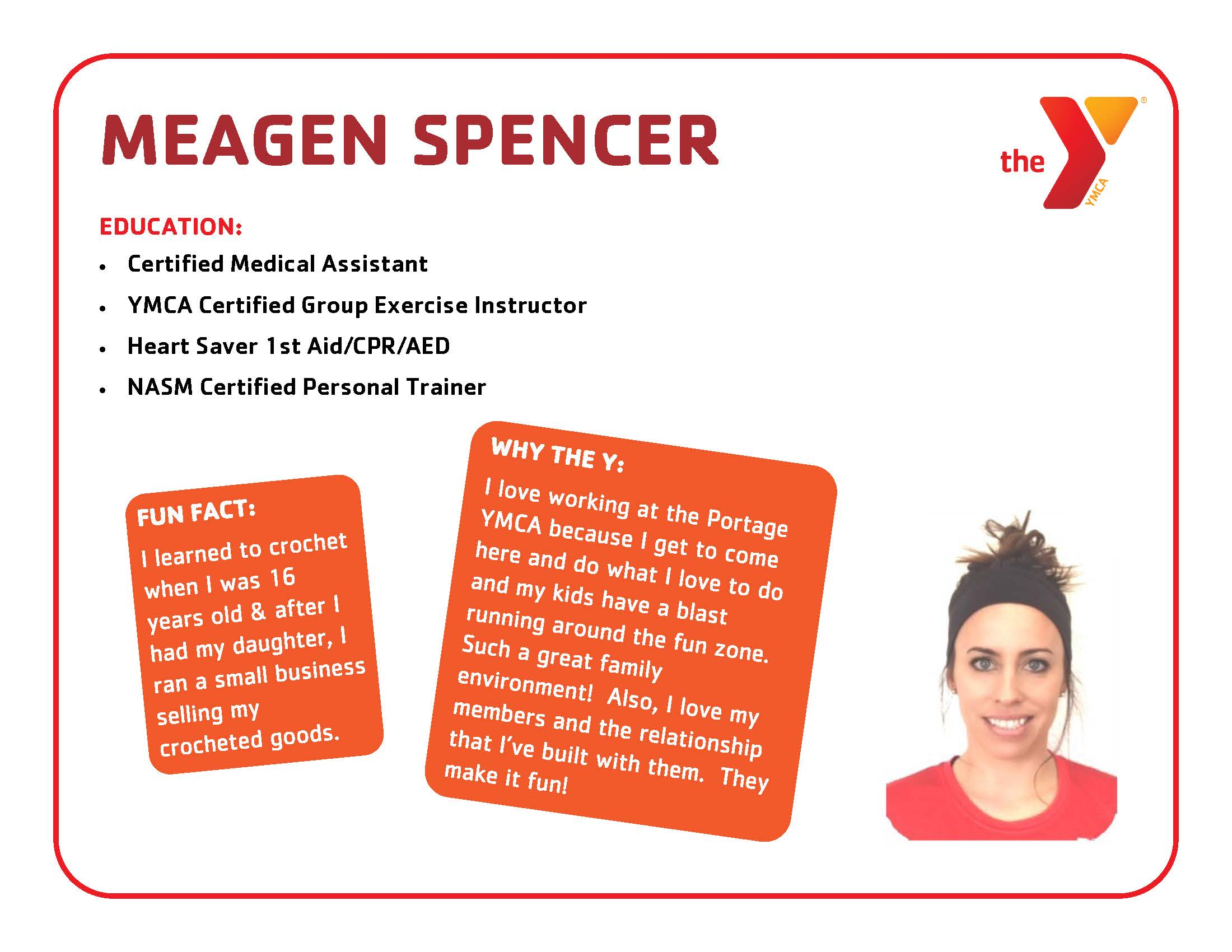 Portage Township Ymca The Y So Much More Meagen Spencer