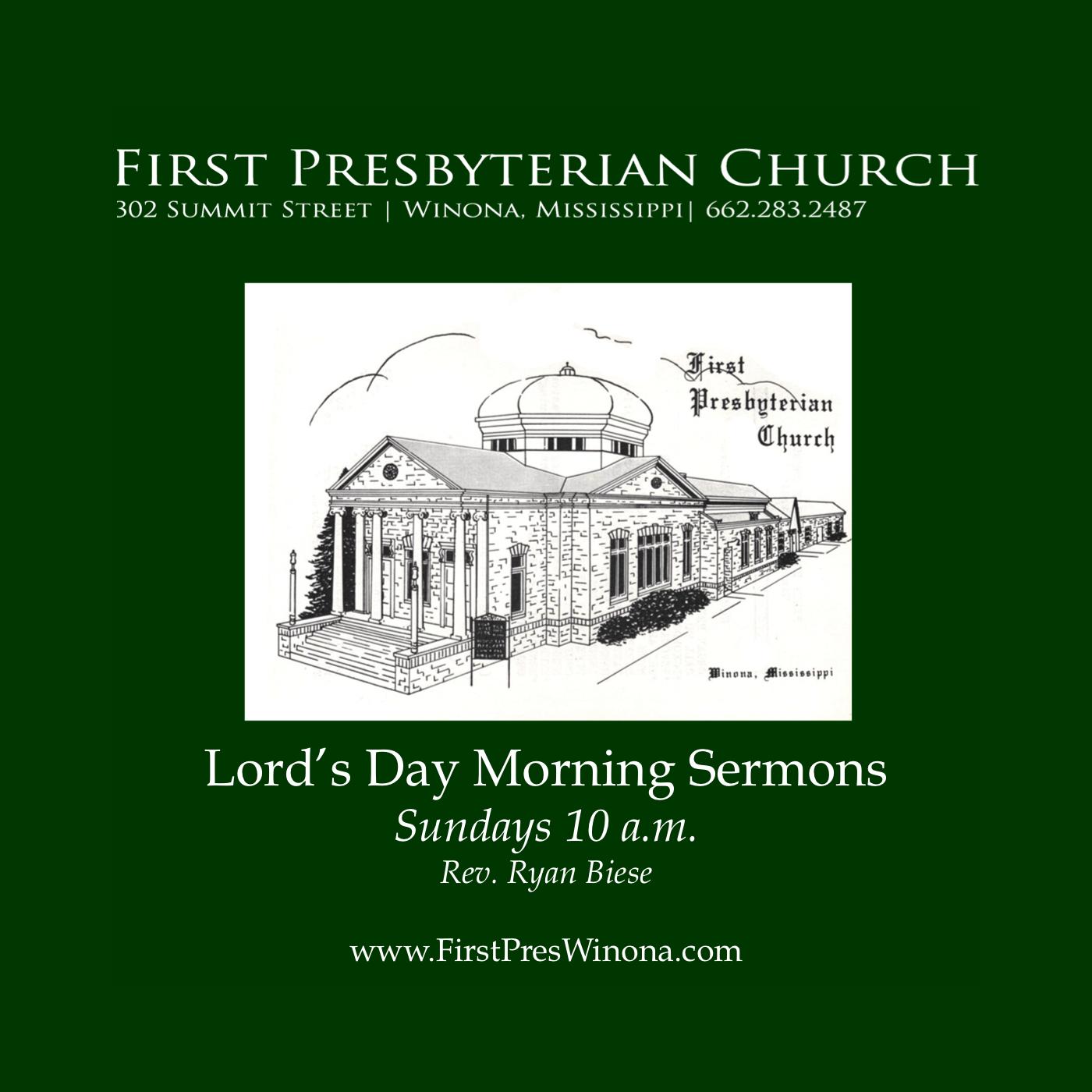 First Presbyterian Church - Sermons