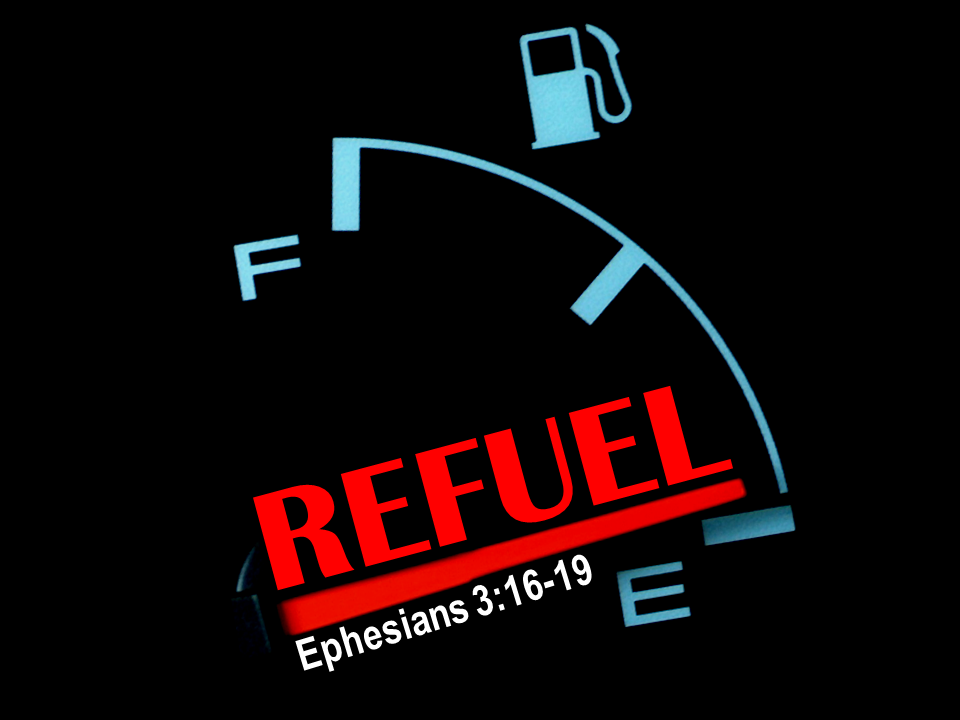 Are you running on Empty? It's time to start Dwelling, Grasping, and Refilling in Christ!
