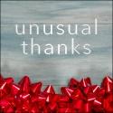 Unusual Thanks