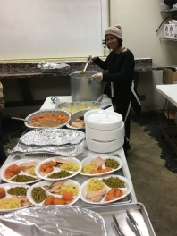 Feeding The Homeless In Love