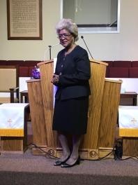 Minister Connie Williams